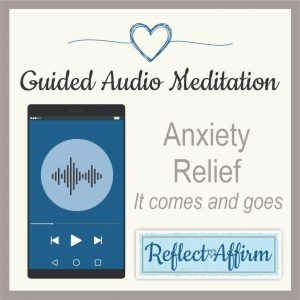 The 15 minute Audio Guided Mediation for Anxiety Relief MP3 - It Comes and Goes will help you to relieve anxiety naturally using meditation and other relaxation techniques.