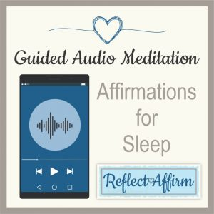 This Positive Affirmations While You Sleep guided audio mediation will provide you with sleep affirmations to let you rest peacefully.