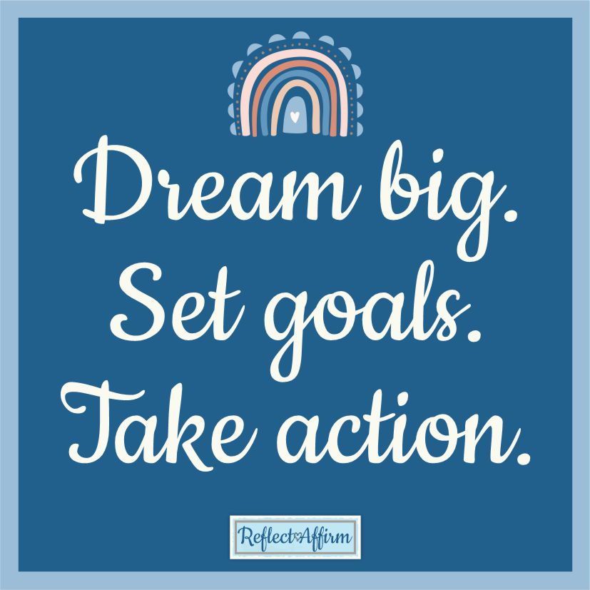 If you're ready for a change, start with this positive affirmation - I am creating the life of my dreams from Reflect Affirm.