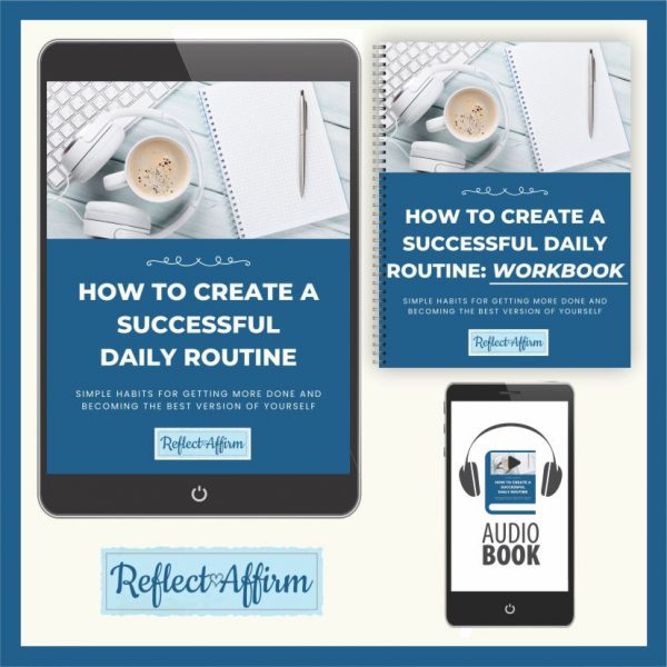 Learn how to create a routine for yourself so you can reach your goals with this Create Successful Daily Routines Program