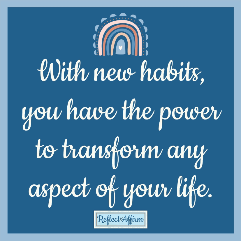 You can use habit affirmations for any goal, but here we'll focus on the two main uses: forming new habits or starting new routines.