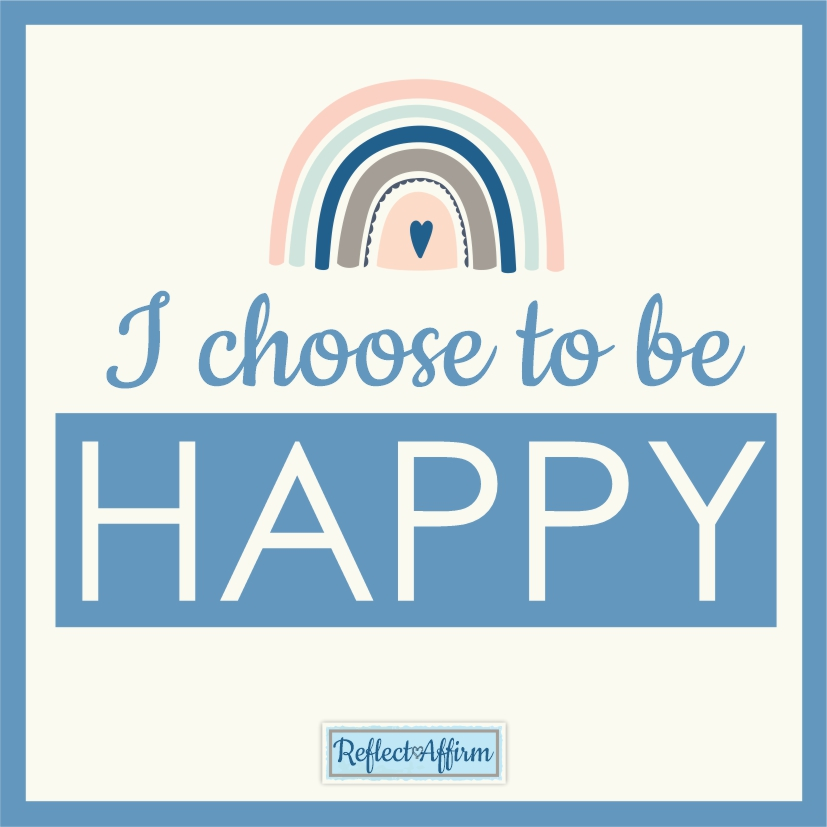 Get started today with these affirmations about happiness, make small changes and choose to be happy today. From Reflect Affirm.