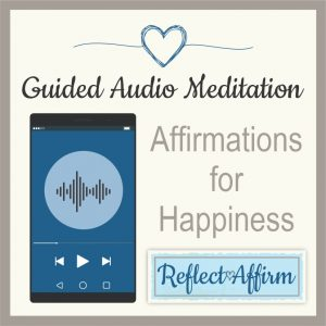 You can get started right away with these audio affirmations about happiness MP3. Start today working towards a more happy and content life!