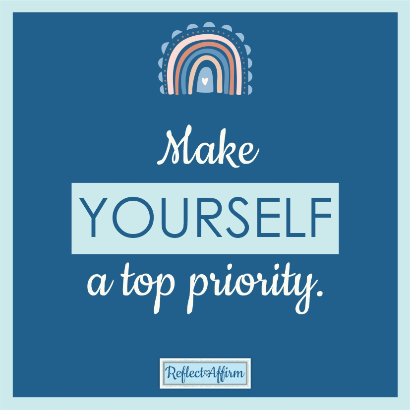 Don't stop achieving your goals. Learn how to build yourself up by using daily positive affirmations from Reflect Affirm.